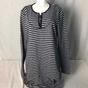 Ralph Lauren Sweatshirt Striped Dress